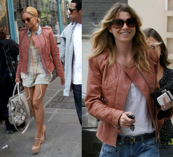 Beyonce Knowles vs Ellen Pompeo in Isabel Marant