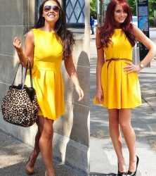 Amy Childs vs Myleene Klass in Topshop