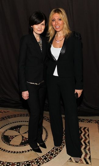 Analt Kiladze and Ekaterina Klyueva at Guli show+New York Fashion Week 2011