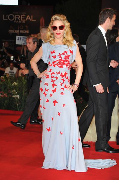 Madonna sends hearts a flutter in Vionnet