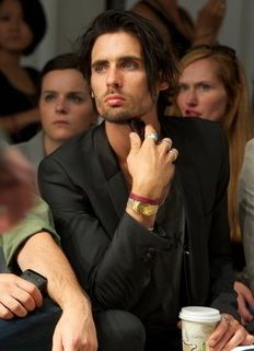 Tyson Ritter at Yigal Azrouel show+New York Fashion Week 2011