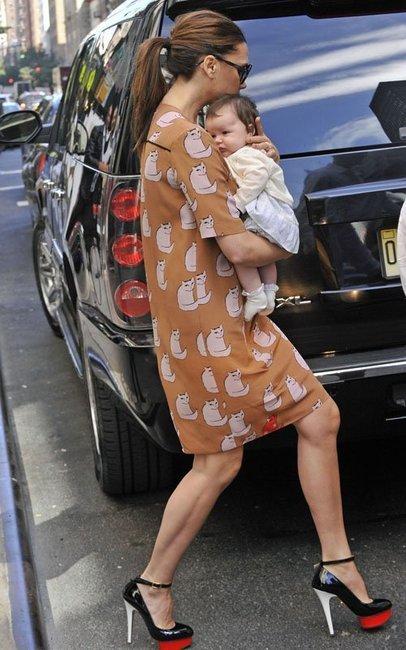 Victoria Beckham looking fabulously feline