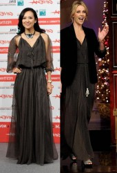 Zhang Ziyi vs Charlize Theron in Christian Dior