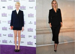 Michelle Williams vs Gwyneth Paltrow in Louis Vuitton