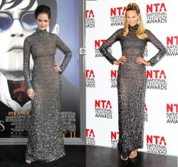 Eva Green vs Elle Macpherson in Tom Ford+Grey sparkly dress