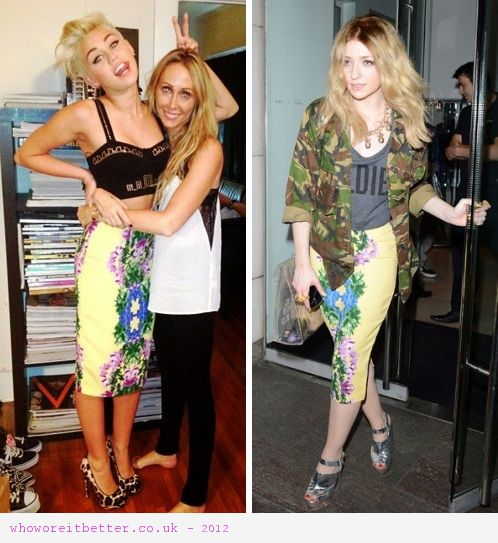 Miley Cyrus vs Nicola Roberts in ASOS