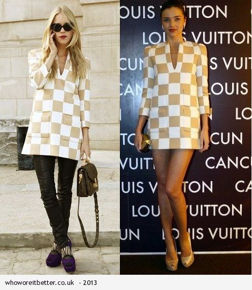 Mary Charteris vs Miranda Kerr in Louis Vuitton