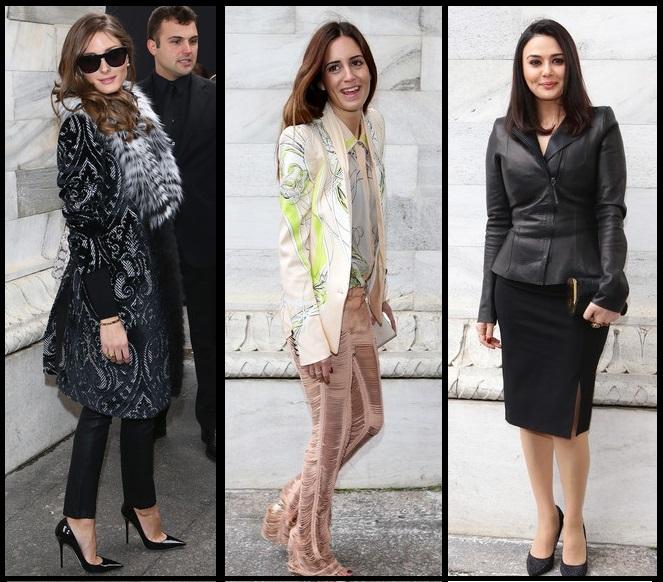 MFW DAY 4 | Olivia Palermo, Preity Zinta & Gala Gonzalez FROW at Roberto Cavalli