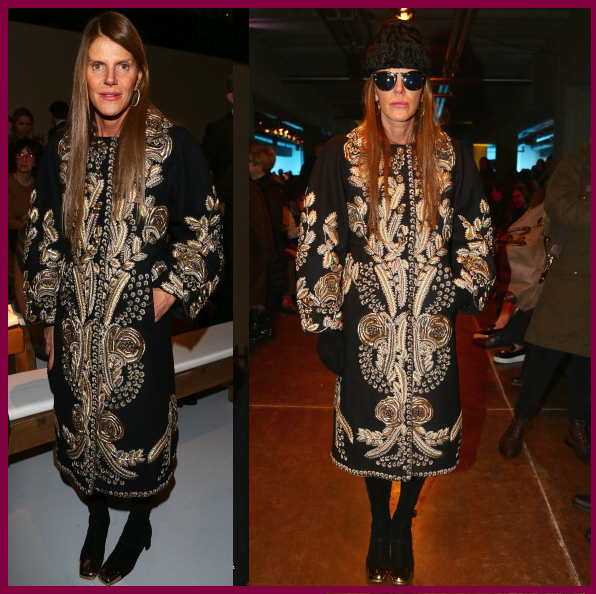 MFW Day 5 | Anna Dello Russo Front Row at Missoni