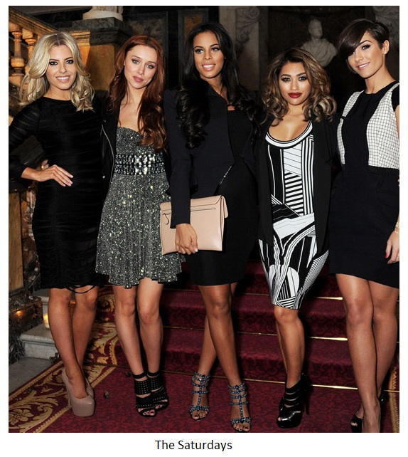 The Saturdays+Julien McDonald London Fashion week