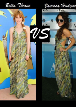 Bella Thorne vs Vanessa Hudgens in AX Armani Exchange