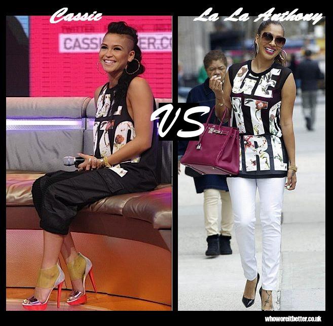 Cassie-vs-La-La-Anthony-in-3.1-Phillip-Lim
