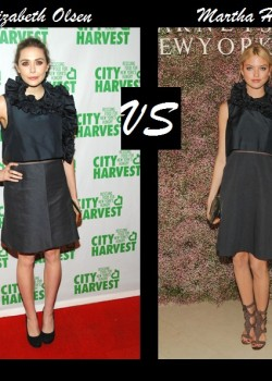 Elizabeth Olsen vs Martha Hunt in Chloé