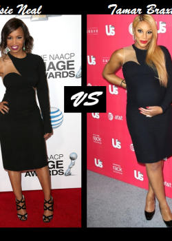 Elsie Neal vs Tamar Braxton in Stella McCartney