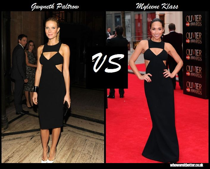 Gwyneth Paltrow vs Myleens Klass in Michael Kors