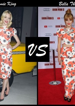 Jamie King vs Bella Thorne in Katie Emilio