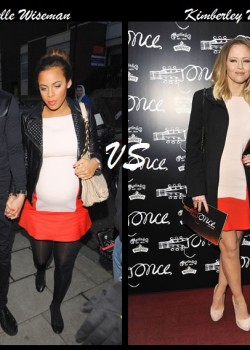 Rochelle Wiseman vs Kimberley Walsh+Zara