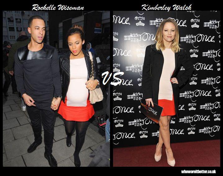 Rochelle Wiseman vs Kimberley Walsh+Zara