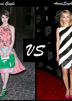 Sami Gayle vs AnnaSophie Robb in Chol