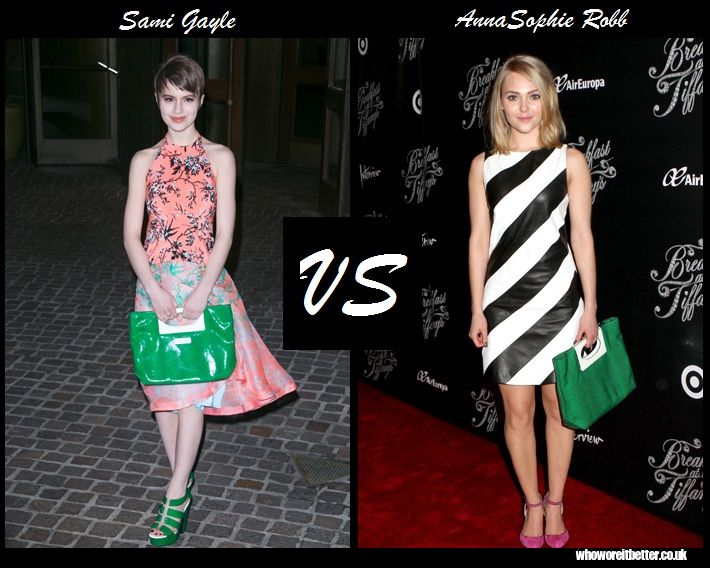 Sami Gayle vs AnnaSophie Robb in Cholé