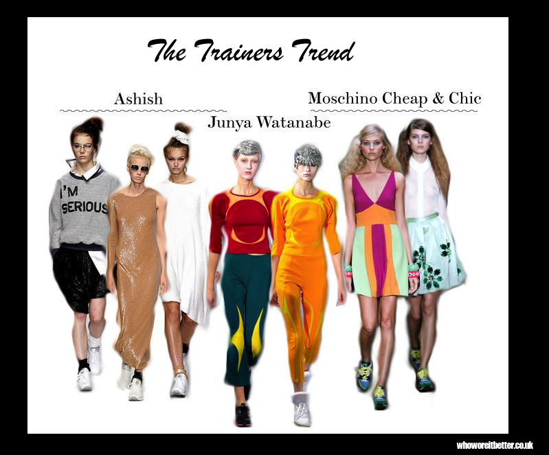 The Fashion Trainers | Trends SS13