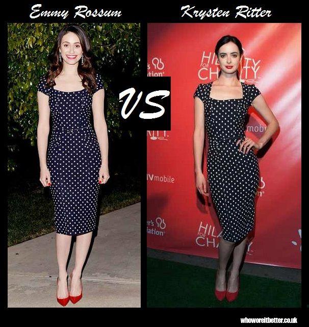 Emmy Rossum vs Krysten Ritter in Stop Staring!
