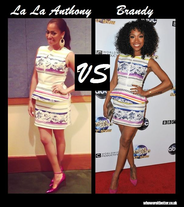 La La Anthony vs Brandy in Camilla and Marc