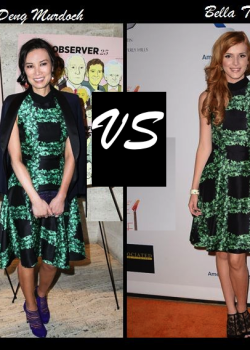 Wendi-Deng-Murdoch-vs-Bella-Thorne-in-Rodarte